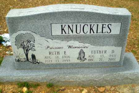 KNUCKLES, RUTH E - Greene County, Arkansas | RUTH E KNUCKLES - Arkansas Gravestone Photos