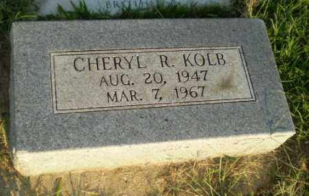 KOLB, CHERYL R - Greene County, Arkansas | CHERYL R KOLB - Arkansas Gravestone Photos
