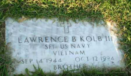 KOLB III (VETERAN VIET), LAWRENCE B - Greene County, Arkansas | LAWRENCE B KOLB III (VETERAN VIET) - Arkansas Gravestone Photos