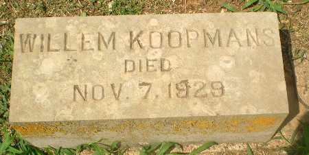KOOPMANS, WILLEM - Greene County, Arkansas | WILLEM KOOPMANS - Arkansas Gravestone Photos