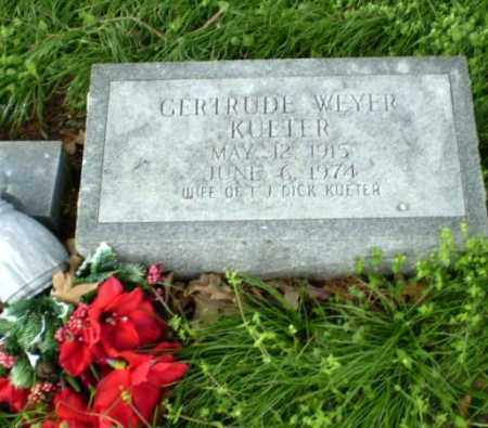 KUETER, GERTRUDE WEYER - Greene County, Arkansas | GERTRUDE WEYER KUETER - Arkansas Gravestone Photos