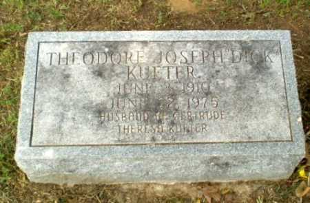 "KUETER, THEODORE JOSEPH ""DICK"" - Greene County, Arkansas 