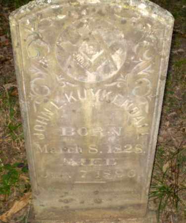 KUYKENDALL (VETERAN CSA), JOHN L - Greene County, Arkansas | JOHN L KUYKENDALL (VETERAN CSA) - Arkansas Gravestone Photos