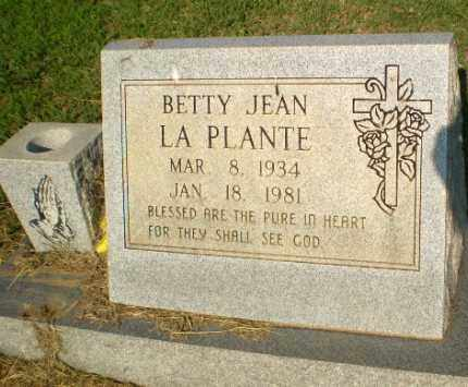 LA PLANTE, BETTY JEAN - Greene County, Arkansas | BETTY JEAN LA PLANTE - Arkansas Gravestone Photos