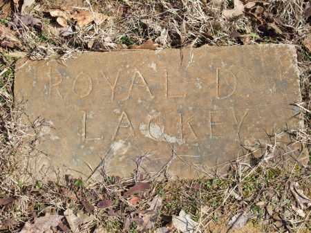 LACKEY, ROYAL D. - Greene County, Arkansas | ROYAL D. LACKEY - Arkansas Gravestone Photos