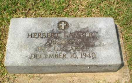 LAMBERT  (VETERAN), HERBERT - Greene County, Arkansas | HERBERT LAMBERT  (VETERAN) - Arkansas Gravestone Photos