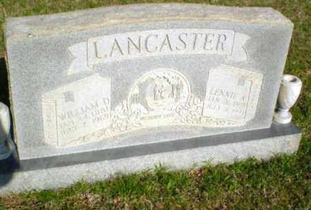LANCASTER, LENNIE - Greene County, Arkansas | LENNIE LANCASTER - Arkansas Gravestone Photos