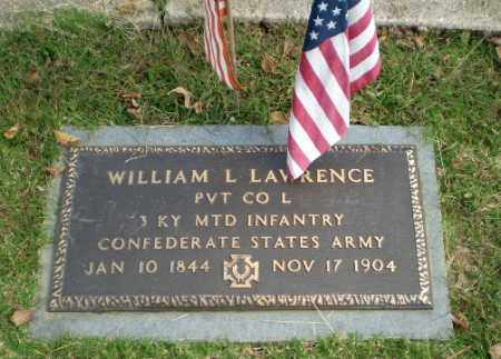 LAWRENCE (VETERAN CSA), WILLIAM L - Greene County, Arkansas | WILLIAM L LAWRENCE (VETERAN CSA) - Arkansas Gravestone Photos