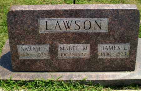 LAWSON, SARAH F - Greene County, Arkansas | SARAH F LAWSON - Arkansas Gravestone Photos