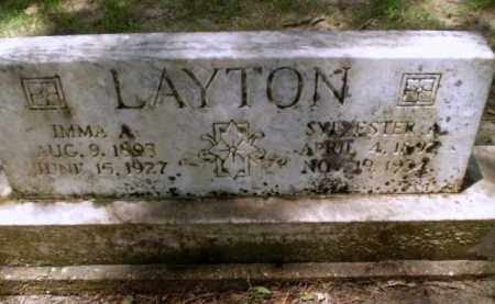 LAYTON, SYLVESTER A - Greene County, Arkansas | SYLVESTER A LAYTON - Arkansas Gravestone Photos