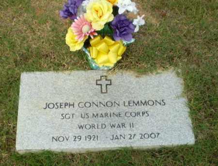 LEMMONS  (VETERAN WWII), JOSEPH CONNON - Greene County, Arkansas | JOSEPH CONNON LEMMONS  (VETERAN WWII) - Arkansas Gravestone Photos