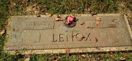LENOX, CLIFFORD W - Greene County, Arkansas | CLIFFORD W LENOX - Arkansas Gravestone Photos