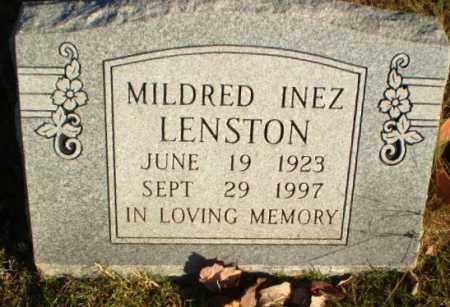 LENSTON, MILDRED INEZ - Greene County, Arkansas | MILDRED INEZ LENSTON - Arkansas Gravestone Photos