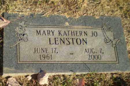 LENSTON, MARY KATHERN JO - Greene County, Arkansas | MARY KATHERN JO LENSTON - Arkansas Gravestone Photos