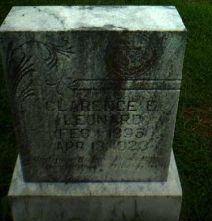 LEONARD, CLARENCE E - Greene County, Arkansas | CLARENCE E LEONARD - Arkansas Gravestone Photos