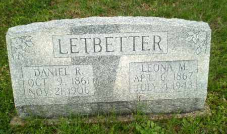 LETBETTER, DANIEL R - Greene County, Arkansas | DANIEL R LETBETTER - Arkansas Gravestone Photos