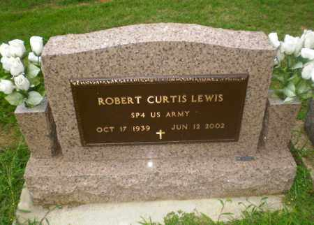 LEWIS  (VETERAN), ROBERT CURTIS - Greene County, Arkansas | ROBERT CURTIS LEWIS  (VETERAN) - Arkansas Gravestone Photos