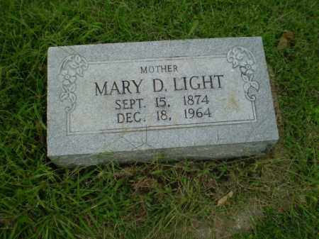 LIGHT, MARY D - Greene County, Arkansas | MARY D LIGHT - Arkansas Gravestone Photos