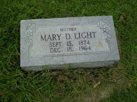 LIGHT, MARY D - Greene County, Arkansas | MARY D LIGHT - Arkansas Gravestone Photos