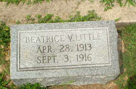 LITTLE, BEATRICE V - Greene County, Arkansas | BEATRICE V LITTLE - Arkansas Gravestone Photos