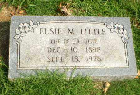 LITTLE, ELSIE M - Greene County, Arkansas | ELSIE M LITTLE - Arkansas Gravestone Photos