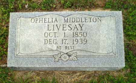 MIDDLETON LIVESAY, OPHELIA - Greene County, Arkansas | OPHELIA MIDDLETON LIVESAY - Arkansas Gravestone Photos