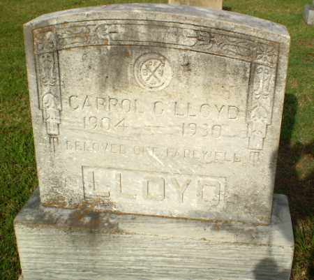 LLOYD, CARROL G - Greene County, Arkansas | CARROL G LLOYD - Arkansas Gravestone Photos