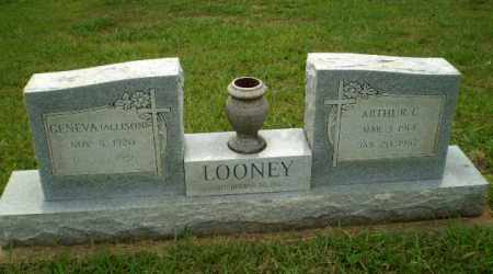 ALLISON LOONEY, GENEVA - Greene County, Arkansas | GENEVA ALLISON LOONEY - Arkansas Gravestone Photos