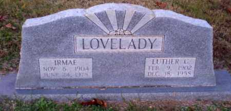 LOVELADY, LUTHER C - Greene County, Arkansas | LUTHER C LOVELADY - Arkansas Gravestone Photos