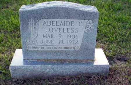 LOVELESS, ADELAIDE - Greene County, Arkansas | ADELAIDE LOVELESS - Arkansas Gravestone Photos