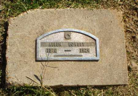 LOVETT, ALLEN - Greene County, Arkansas | ALLEN LOVETT - Arkansas Gravestone Photos