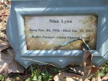 LYNN, NINA - Greene County, Arkansas | NINA LYNN - Arkansas Gravestone Photos