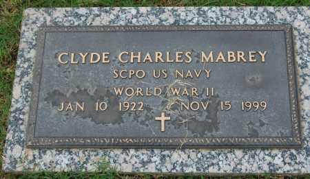 MABREY (VETERAN WWII), CLYDE CHARLES - Greene County, Arkansas | CLYDE CHARLES MABREY (VETERAN WWII) - Arkansas Gravestone Photos