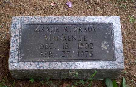 GRADY MACKENZIE, GRACE R - Greene County, Arkansas | GRACE R GRADY MACKENZIE - Arkansas Gravestone Photos
