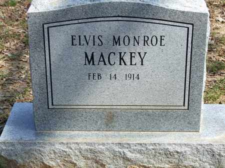 MACKEY, ELVIS MONROE - Greene County, Arkansas | ELVIS MONROE MACKEY - Arkansas Gravestone Photos