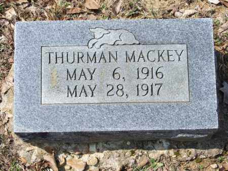 MACKEY, THURMAN - Greene County, Arkansas | THURMAN MACKEY - Arkansas Gravestone Photos