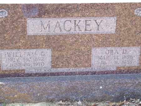 MACKEY, WILLIAM G. - Greene County, Arkansas | WILLIAM G. MACKEY - Arkansas Gravestone Photos