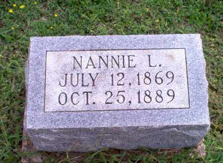 MADDOX, NANNIE L - Greene County, Arkansas | NANNIE L MADDOX - Arkansas Gravestone Photos