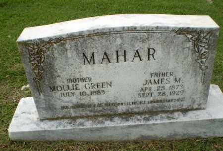 MAHAR, JAMES M - Greene County, Arkansas | JAMES M MAHAR - Arkansas Gravestone Photos
