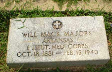 MAJORS  (VETERAN), WILL MACK - Greene County, Arkansas | WILL MACK MAJORS  (VETERAN) - Arkansas Gravestone Photos