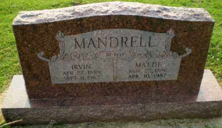 MANDRELL, MATTIE - Greene County, Arkansas | MATTIE MANDRELL - Arkansas Gravestone Photos