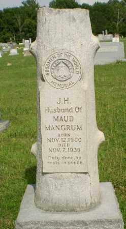 MANGRUM, J.H. - Greene County, Arkansas | J.H. MANGRUM - Arkansas Gravestone Photos