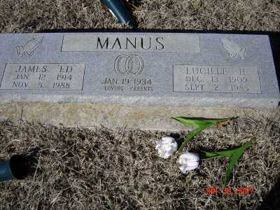 MANUS, JAMES EDWARD - Greene County, Arkansas | JAMES EDWARD MANUS - Arkansas Gravestone Photos
