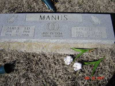 SMITH MANUS, LUCILLE H. - Greene County, Arkansas | LUCILLE H. SMITH MANUS - Arkansas Gravestone Photos