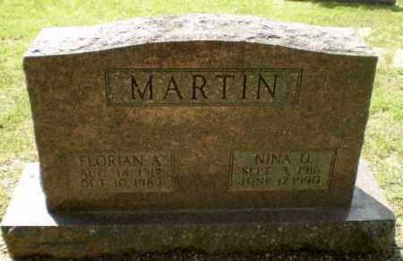 MARTIN, FLORIAN A - Greene County, Arkansas | FLORIAN A MARTIN - Arkansas Gravestone Photos