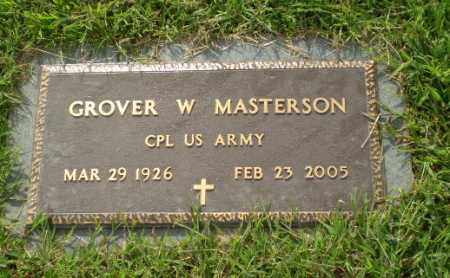 MASTERSON  (VETERAN), GROVER W - Greene County, Arkansas | GROVER W MASTERSON  (VETERAN) - Arkansas Gravestone Photos