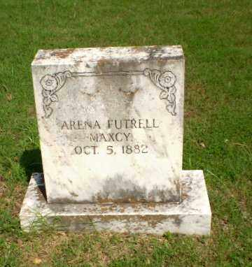 FUTRELL MAXCY, ARENA - Greene County, Arkansas | ARENA FUTRELL MAXCY - Arkansas Gravestone Photos