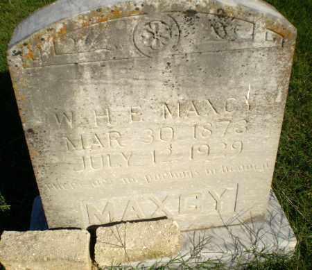 MAXCY, W.H.E. - Greene County, Arkansas | W.H.E. MAXCY - Arkansas Gravestone Photos