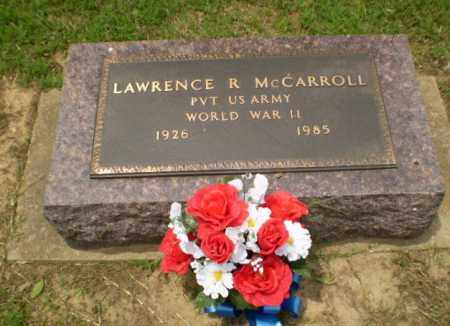 MCCARROLL  (VETERAN WWII), LAWRENCE R - Greene County, Arkansas | LAWRENCE R MCCARROLL  (VETERAN WWII) - Arkansas Gravestone Photos