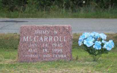 MCCARROLL, JIMMY WAYNE - Greene County, Arkansas | JIMMY WAYNE MCCARROLL - Arkansas Gravestone Photos